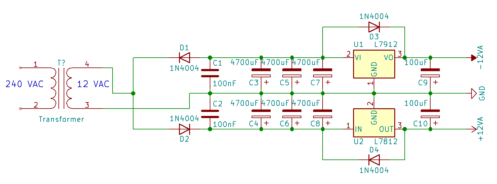 Sos Forum Possible Issue With L7812 Voltage Regulator Shunt Circuit