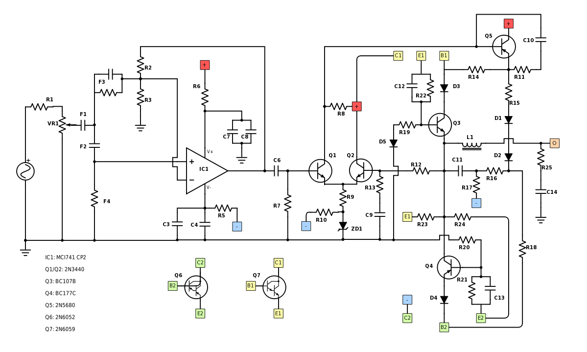Leslie Speaker Wiring Diagram Library Pass Amp Seymour Diagrams Ive Had A Go At Tracing The Circuit On Tweeter Board